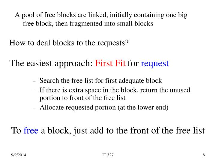 How to deal blocks to the requests?