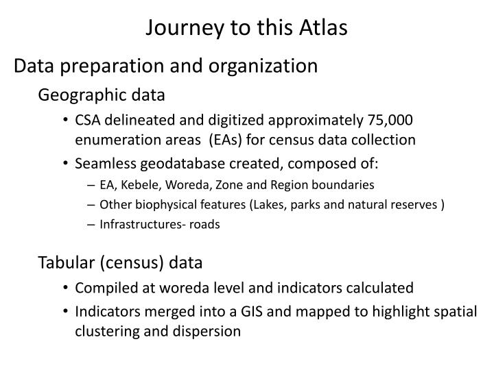 Journey to this Atlas