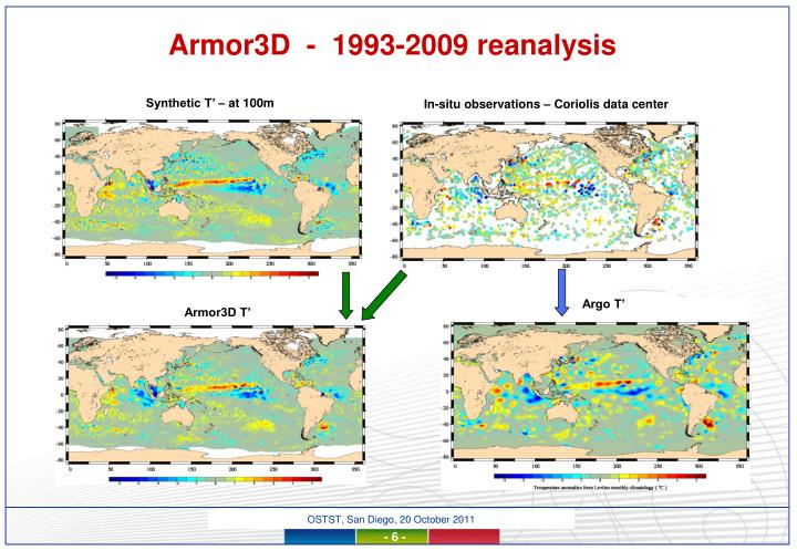 Armor3D  -  1993-2009 reanalysis