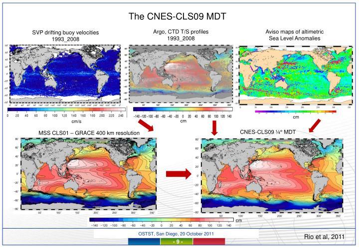 The CNES-CLS09 MDT