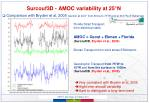 surcouf3d amoc variability at 25 n