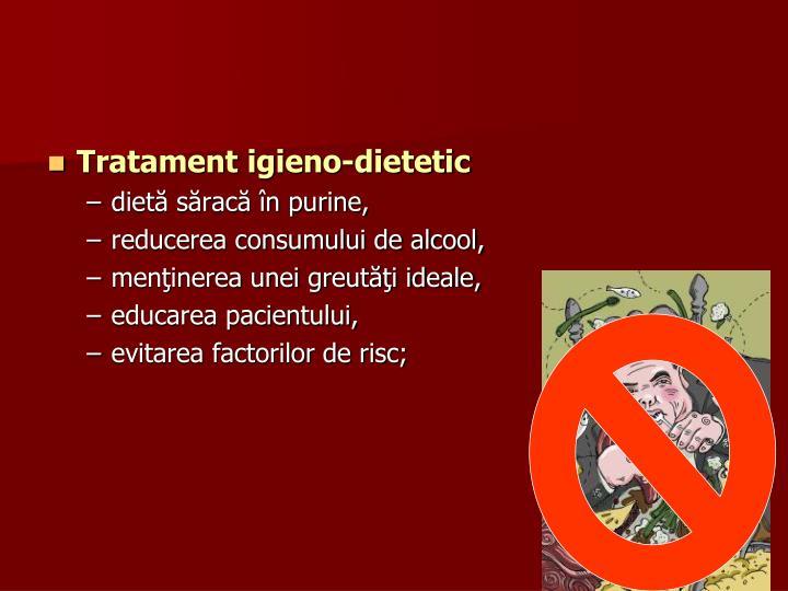 Tratament igieno-dietetic
