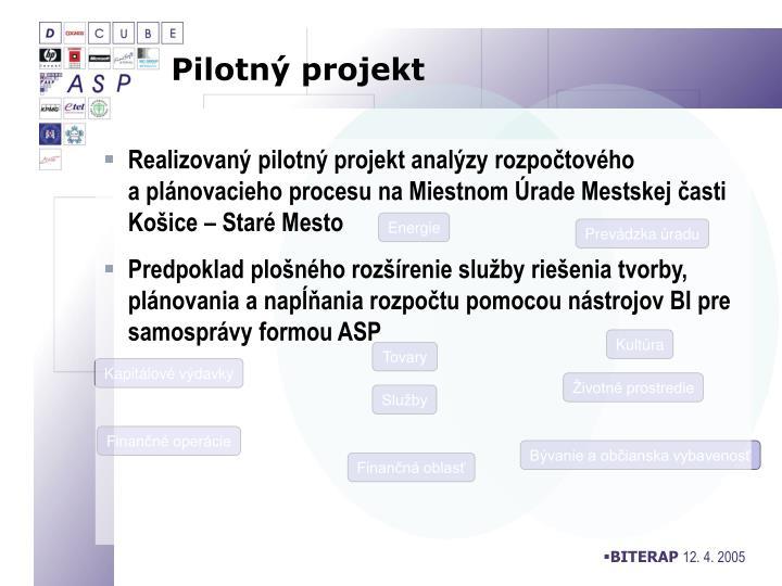 Pilotný projekt