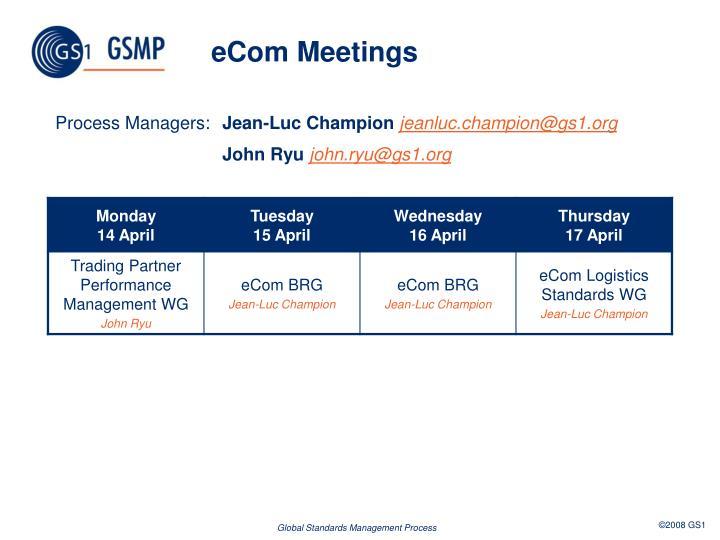 eCom Meetings