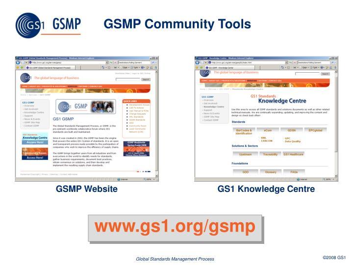 GSMP Community Tools