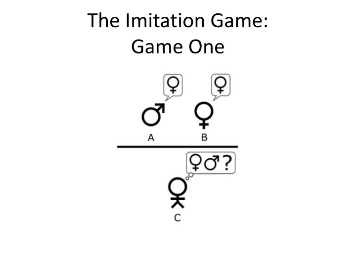 The Imitation Game: