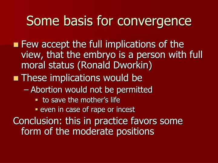 Some basis for convergence