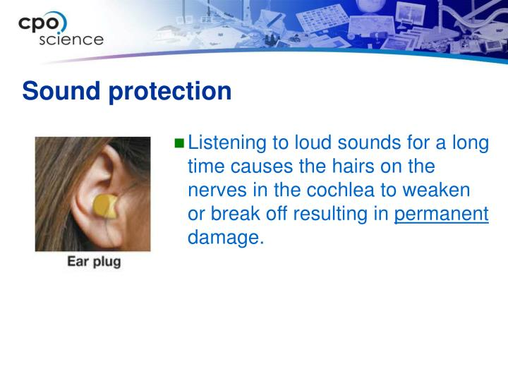 Sound protection