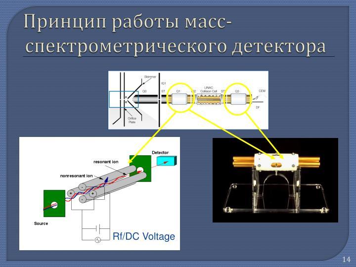 Rf/DC Voltage