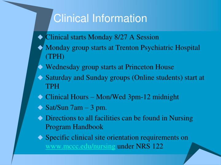 Clinical Information