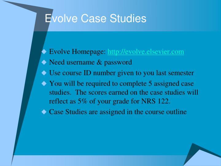 Evolve Case Studies