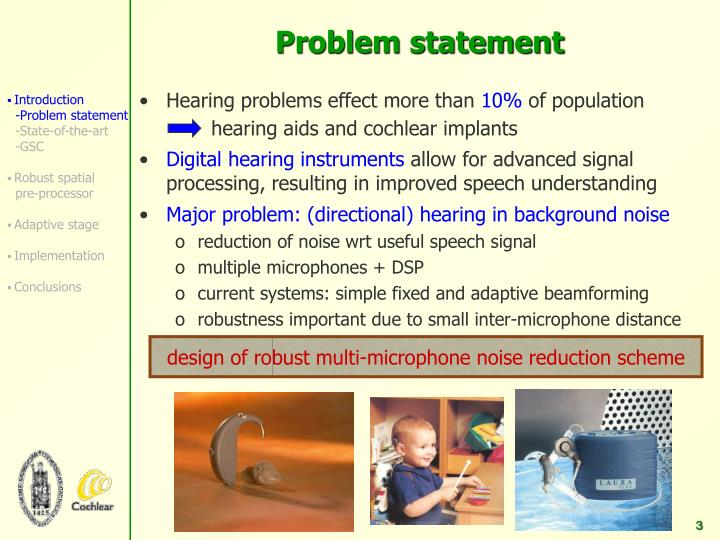 hearing aids and cochlear implants