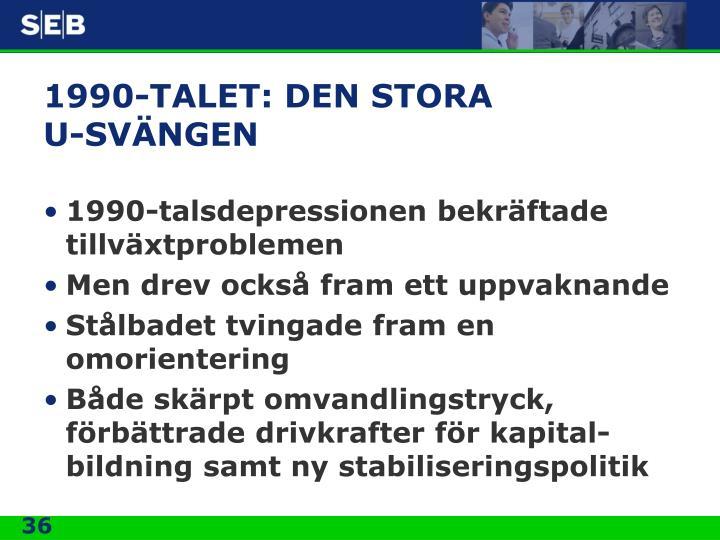 1990-TALET: DEN STORA