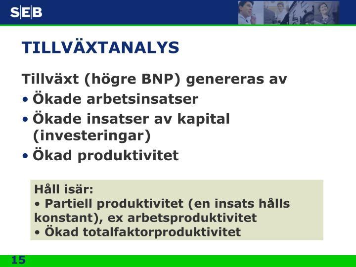 TILLVÄXTANALYS