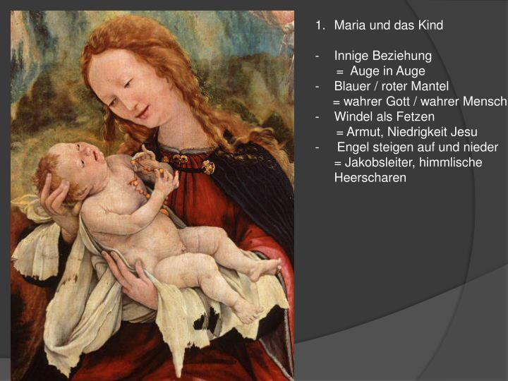 Maria und das Kind