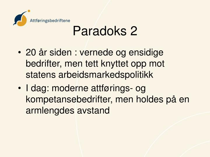 Paradoks 2