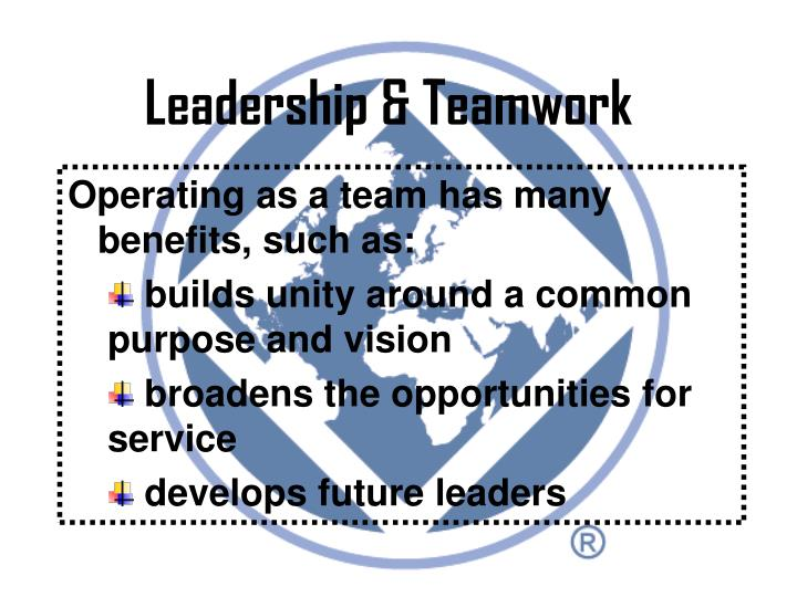 Leadership & Teamwork