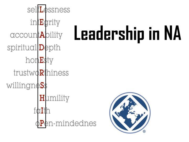 Leadership in NA