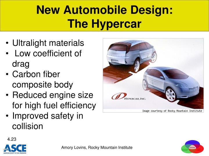 New Automobile Design:
