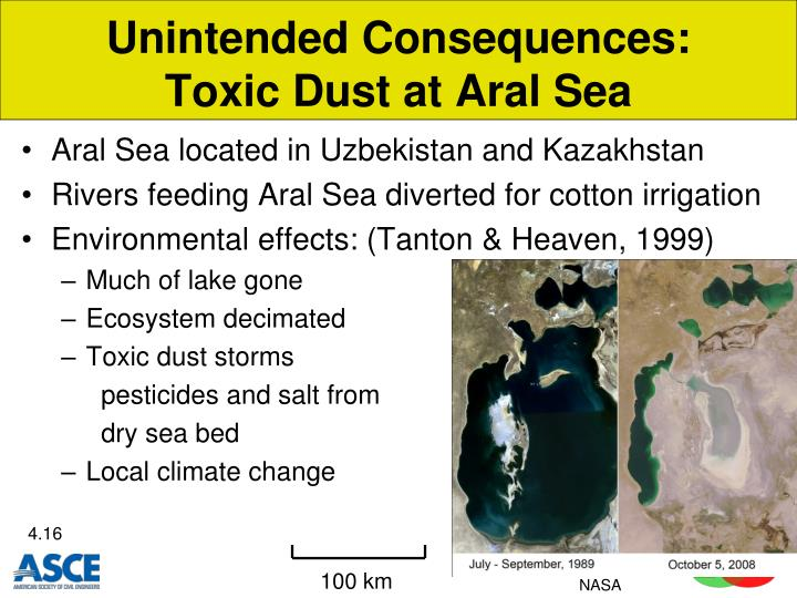 Unintended Consequences: Toxic Dust at Aral Sea