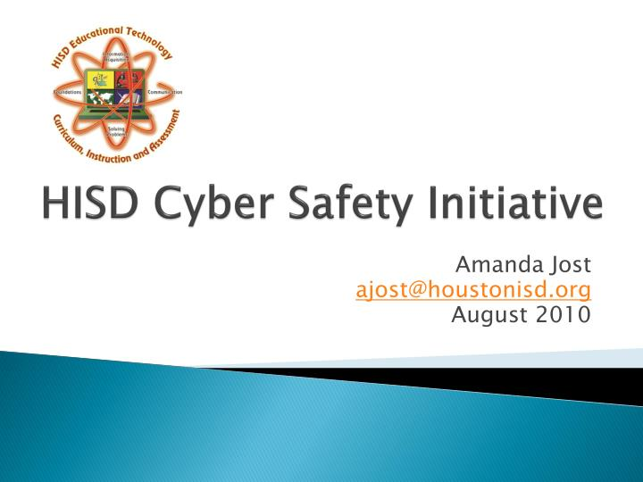 HISD Cyber Safety Initiative