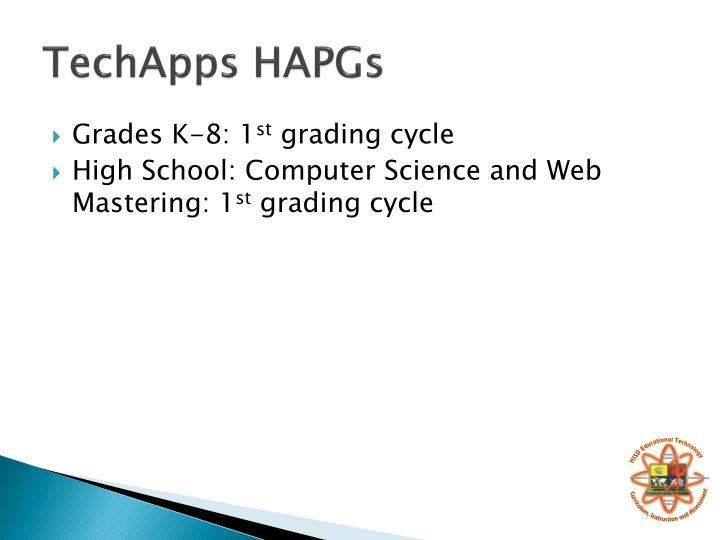 TechApps HAPGs