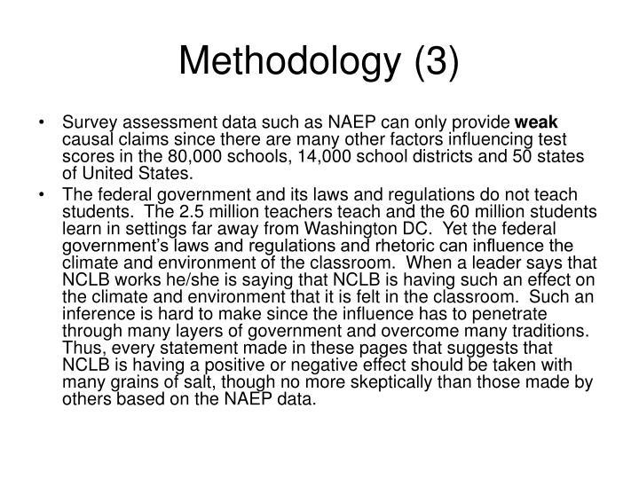 Methodology (3)