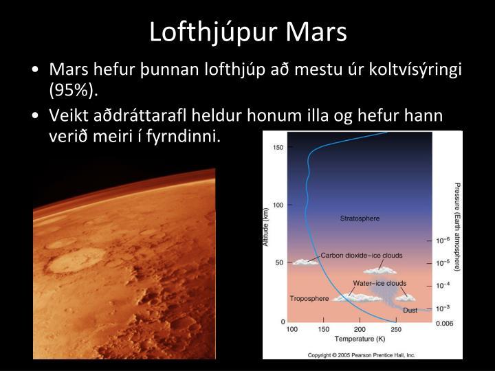 Lofthjúpur Mars