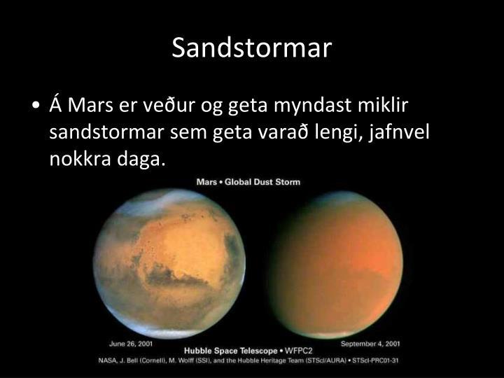 Sandstormar