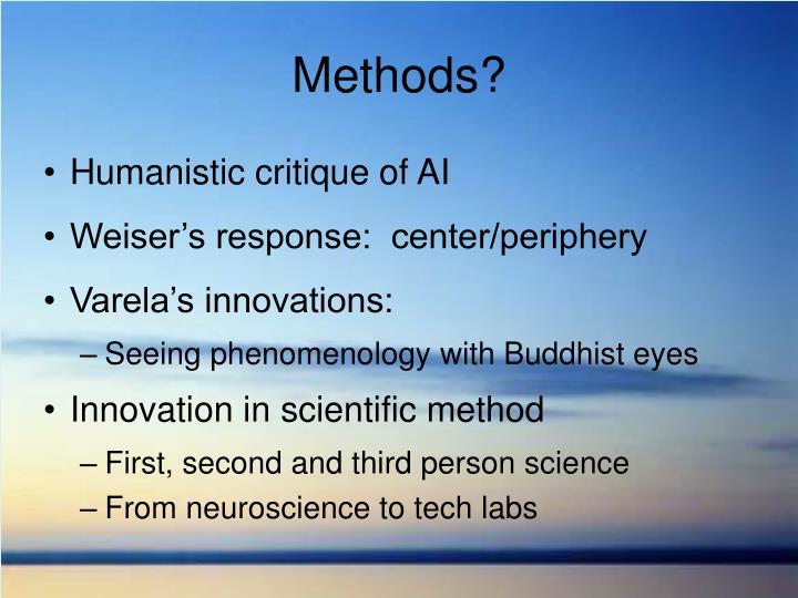 Methods?