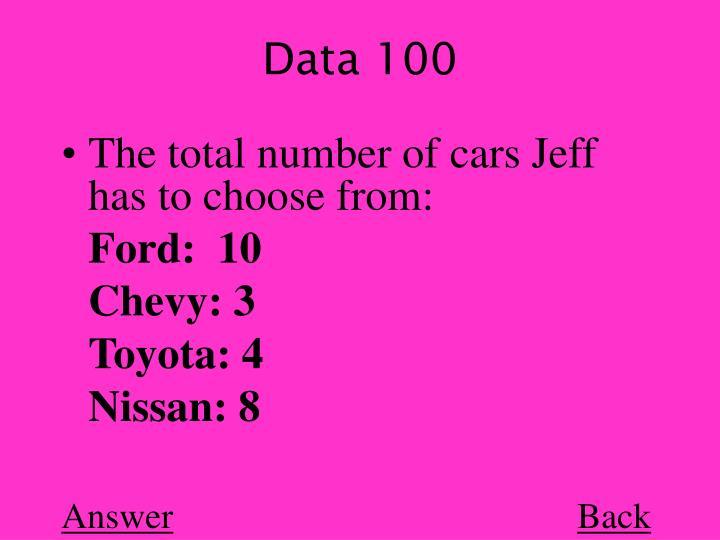 Data 100