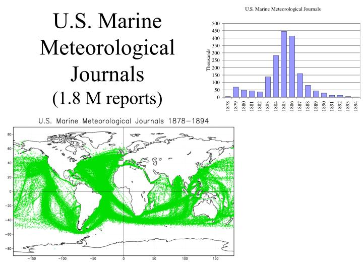 U.S. Marine Meteorological Journals