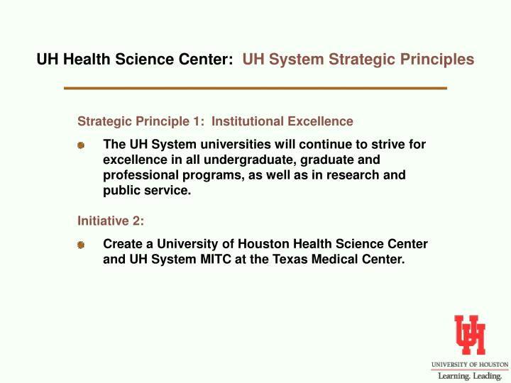 UH Health Science Center: