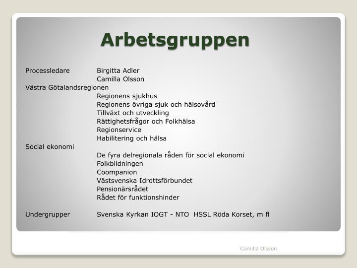 Processledare Birgitta Adler