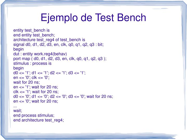 entity test_bench is