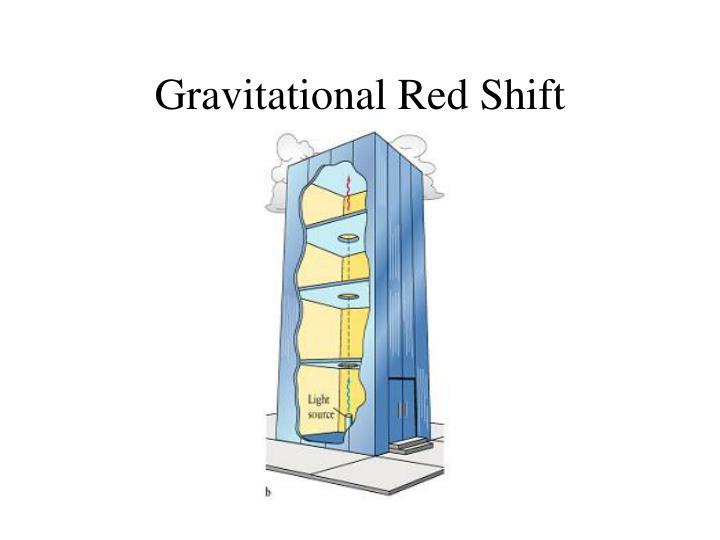 Gravitational Red Shift