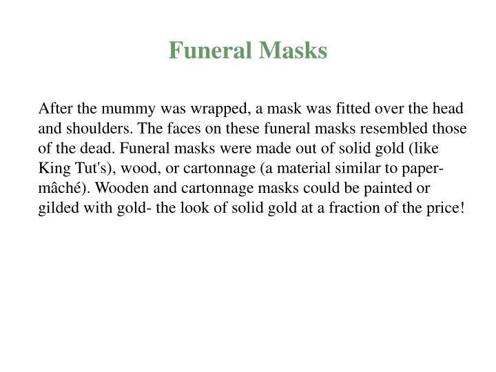 Funeral Masks