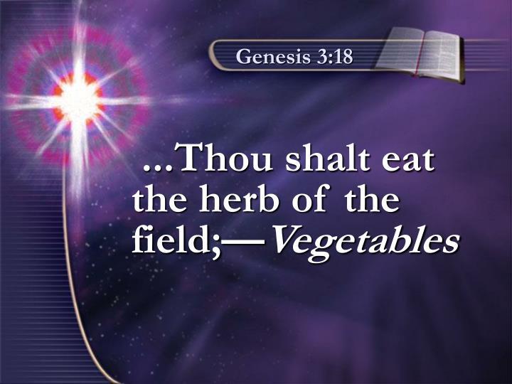 Genesis 3:18