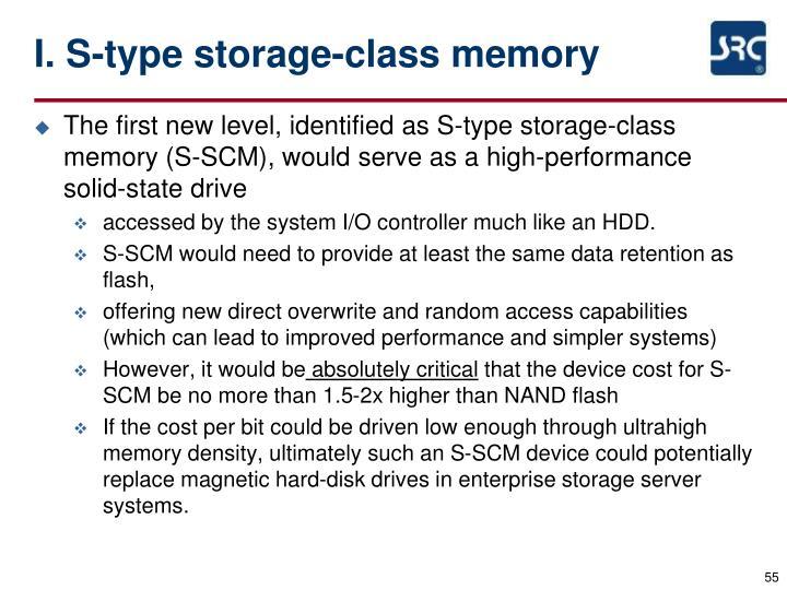 I. S-type storage-class memory