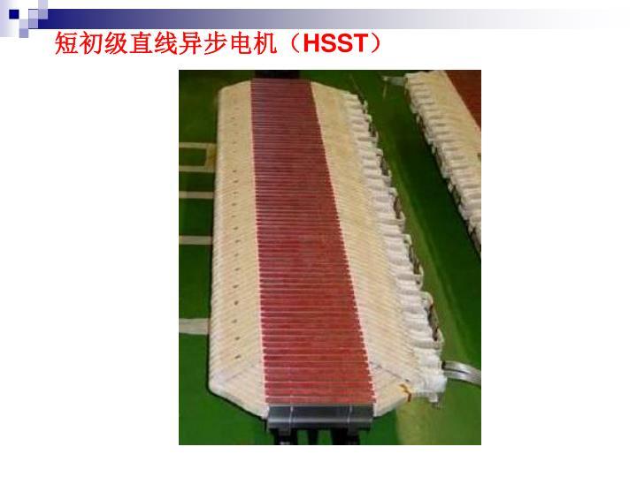 短初级直线异步电机(