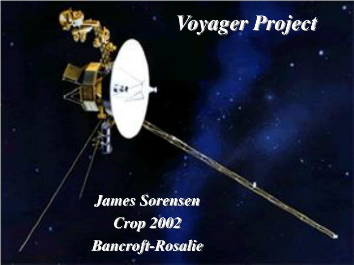 Voyager project
