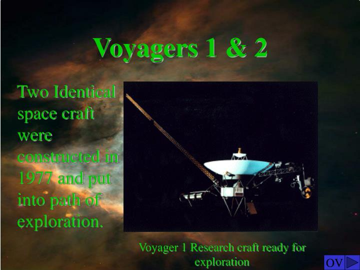 Voyagers 1 2