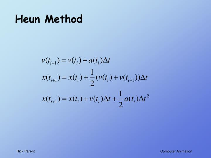 Heun Method