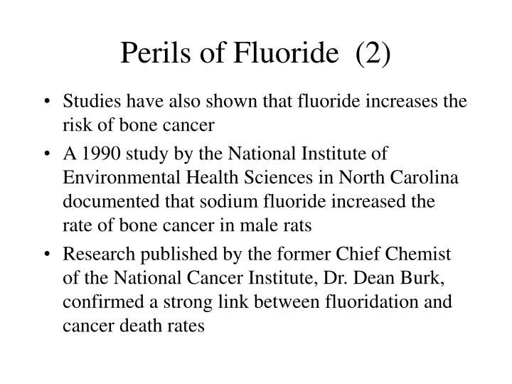 Perils of Fluoride  (2)