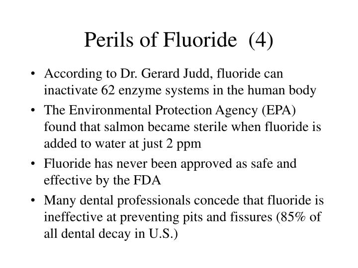 Perils of Fluoride  (4)