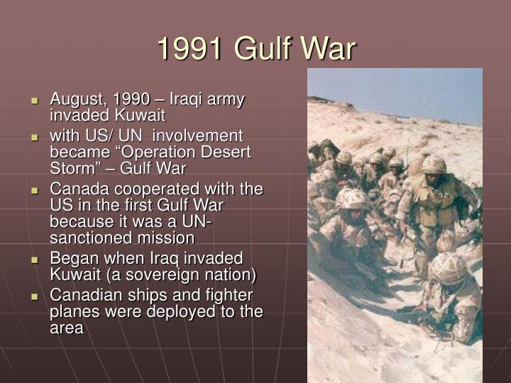 1991 Gulf War