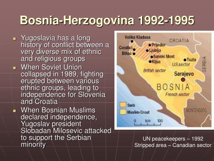 Bosnia-Herzogovina 1992-1995