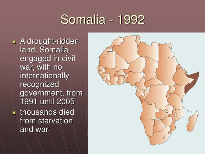 Somalia - 1992
