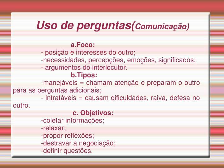 a.Foco: