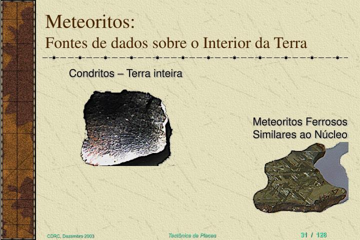 Meteoritos: